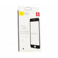 Защитое стекло iPhone 7 Baseus 0.3 mm Silk Screen Tempered Glass (Стекло) (Белый)