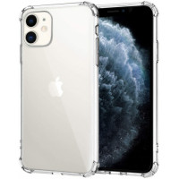 Чехол Накладка для iPhone 11 Simple Silicone Case (Transparent) (Полиулетан)