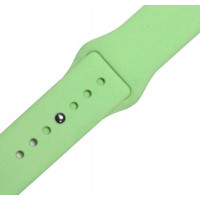 Ремешок-браслет для Apple Watch 42mm Silicone Band (lime green)