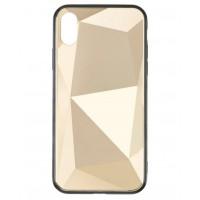 Чехол накладка iPhone Xs Max Baseus Prizma  Case (gold)