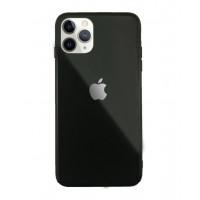 Чехол Накладка для iPhone 11 Pro Glass Pastel color Logo (black)