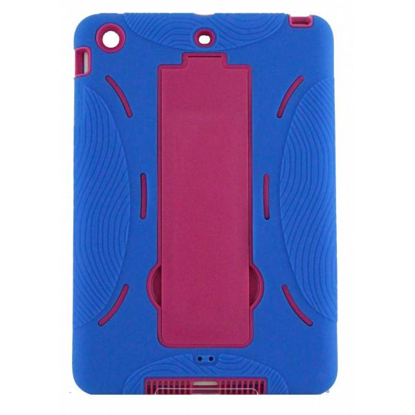 Чехол Накладка для iPad mini  ARMOR (Синий) (Полиулетан)