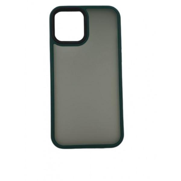 Чехол iPhone 12/12 Pro Rock Guard Series Matte (green)