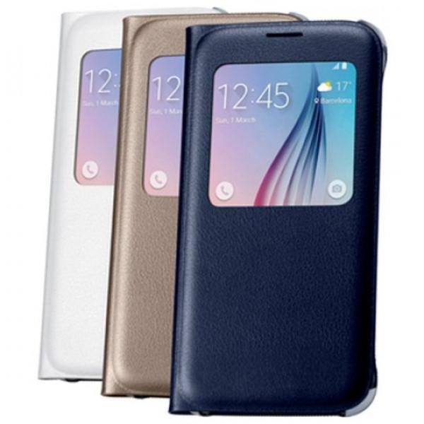 Чехол книжка Original для Samsung S6 Black