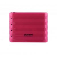 Портативное зарядное устройство NUOKU PREMIUM POWER BANK (10400mAh) (Розовый)