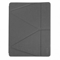 Чехол книжка для iPad Air 10.9 (2020) Origami Leather Case Pencil Groove (Gray)
