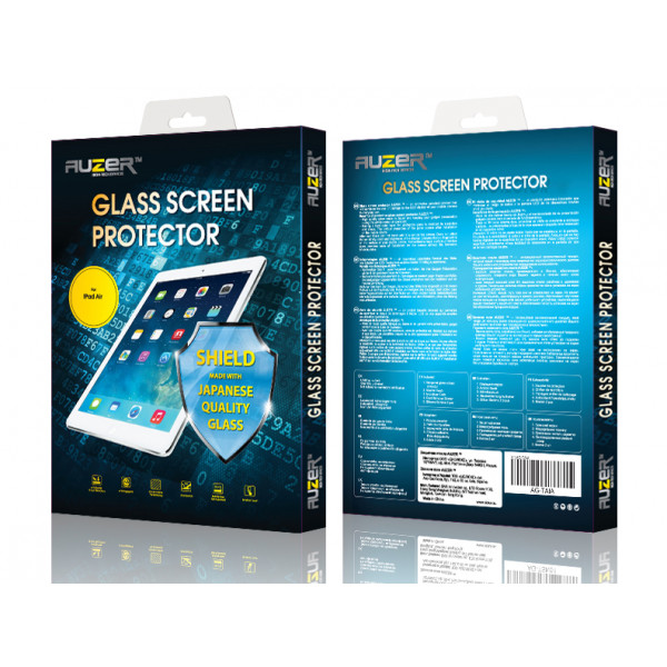 Защитное Стекло для iPad Air 2 Glass Screen Protector (Глянцевый) (Стекло)