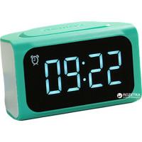 Сетевое зарядное устройство + Часы/Будильник Remax ZMart Alarm ClockRM-C05