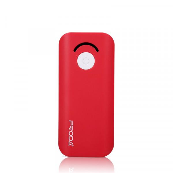 Портативное зарядное устройство Proda Power Box Jane (6000mAh) (Красный)