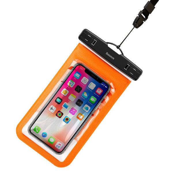 Чехол на пояс Baseus Multi-functional Waterproof Bag (Orange)