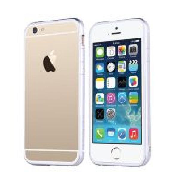 Бампер для iPhone 6 Plus TOTU EVOQUE (Серебристый) (Пластик)