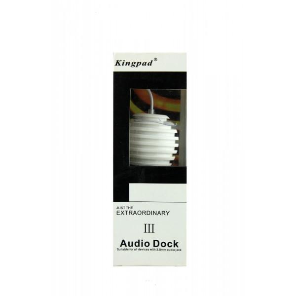 Акустика Kingpad Audio Dock III (белый)