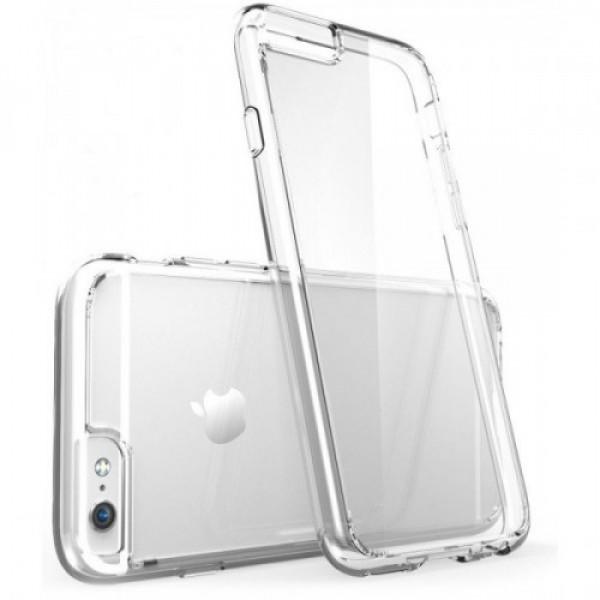 Чехол Накладка для iPhone 6 TOTU Air (Прозрачный) (Пластик)