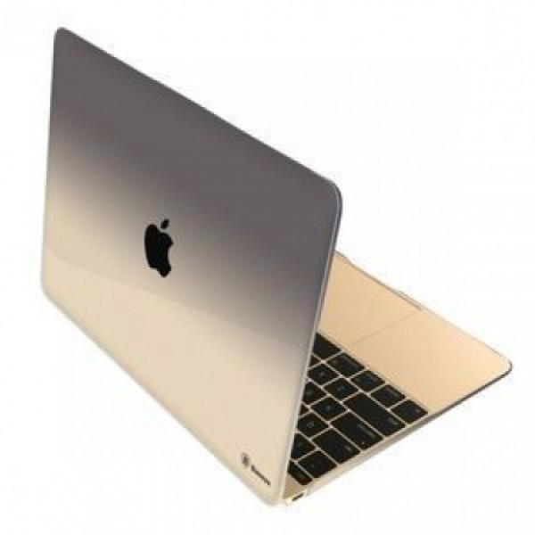 Чехол накладка MacBook 12  BASEUS Gradient (blue)