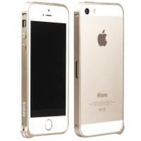 Бампер для iPhone 5/5S IBacks iFling Aircraft (Золотой) (Алюминий)
