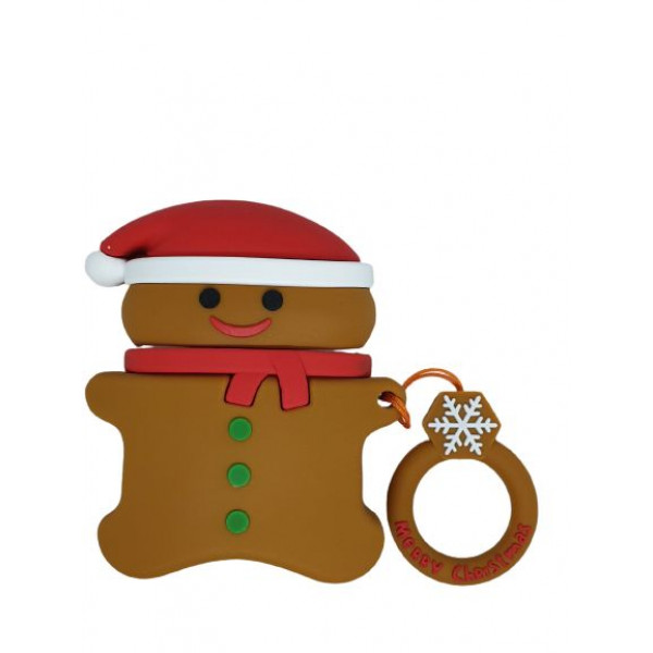 Чехол для AirPods Toys Case Gingerbread (Brown)