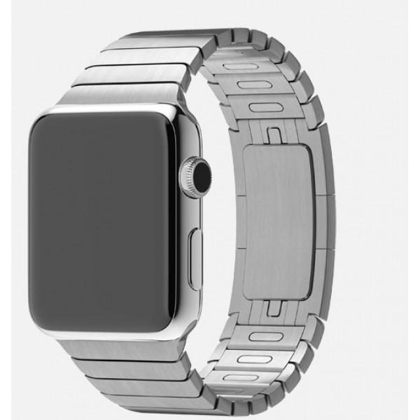 Apple Watch 38mm Stainless Steel Case with Link Bracelet (MJ3E2)