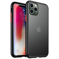 Чехол Накладка для iPhone 11 Pro iPaky Cucoloris (black\red)