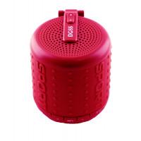 Акустика DOSS Hurricane (Bluetooth) (Handsfree) (Красный)