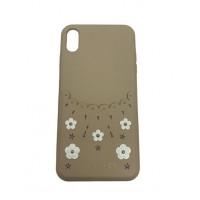 Чехол накладка iPhone Xs Max Californla Plum Case (gold)