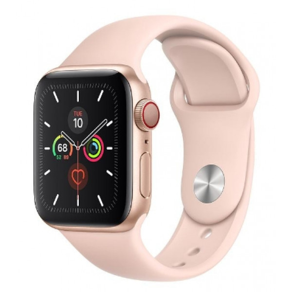 Apple Watch Series 5 LTE 40mm Gold Aluminum w. Pink Sand b.- Gold Aluminum (MWWP2, MWX22)