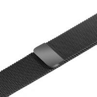 Ремешок-браслет для Apple watch 42mm steel gray Link (Milanese loop)