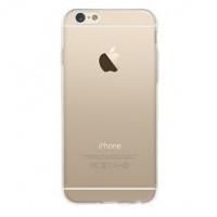 Чехол Накладка для iPhone 6  MAX-PI(Прозрачный + Серебристый) (Силикон)