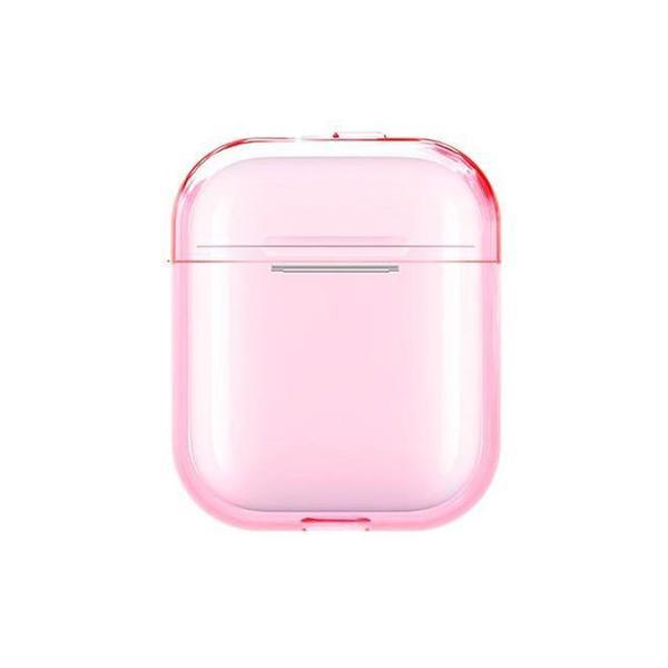 Чехол для AirPods Silicone Case matte (pink)