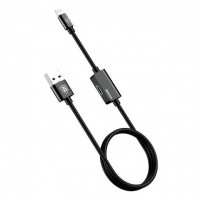 Кабель Baseus Lightning Music series Audio Cable 2A 1M /black/