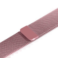 Ремешок-браслет для Apple Watch 42mm Milanese Loop Band (Rose Gold)