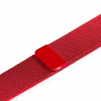 Ремешок-браслет для Apple Watch 38mm Milanese Loop Band (Red)