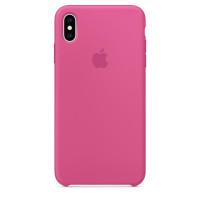 Чехол Накладка для iPhone Xs Max Apple Silicon Case (Dragon Fruit) (Полиулетан)