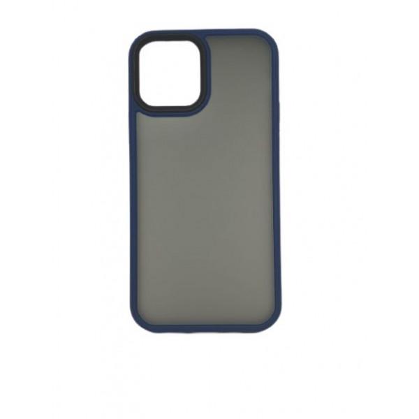 Чехол iPhone 12/12 Pro Rock Guard Series Matte (blue)