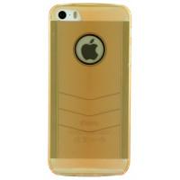 Чехол Накладка для iPhone  5/5S BASEUS Glitter Case Rose Gold