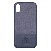Чехол накладка iPhone Xs Max Polo Virtuoso Case (blue)