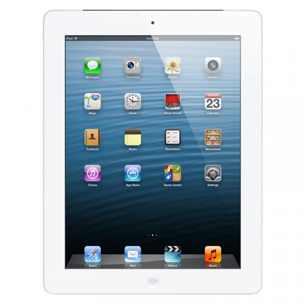 Apple iPad 4 Wi-Fi 128 GB White (ME393)