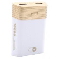 Портативное зарядное устройство Power Bank WK 10000mAh WP-013(white)
