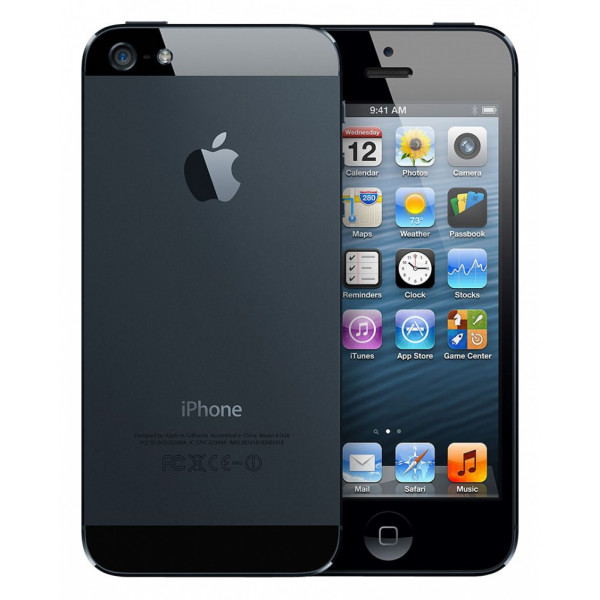 Apple iPhone 5 64GB (Black) (Refurbished)