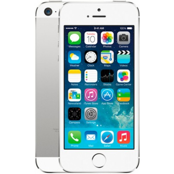 Apple iPhone 5S 16GB (Silver) (ME433)