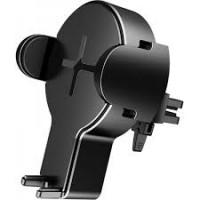Авто-держатель с беспроводной зарядкой Rock W2 Car Wireless Charging Stand Black