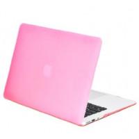Чехол накладка MacBook Air 11.6 Slim Case (Бледно розовый) (Матовый)