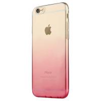 Чехол Накладка для iPhone 6 FSHANG Rosy (Берюзовый) (Силикон)