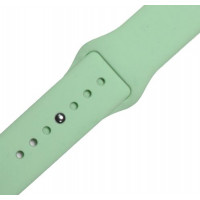 Ремешок-браслет для Apple Watch 42mm Silicone Band (mint)