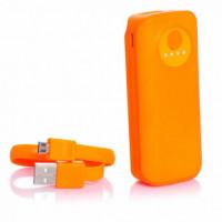 Портативное зарядное устройство Power Bank Mobile  Ebai 7200mAh  Оранжевый