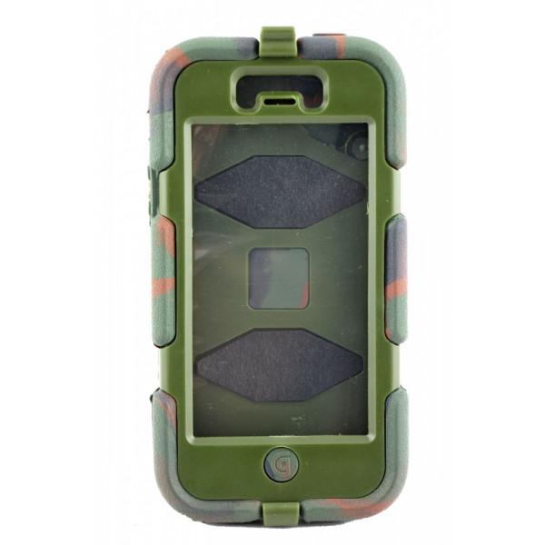 Чехол Антишок для iPhone 5/5S GRIFFIN Survivor (хаки)