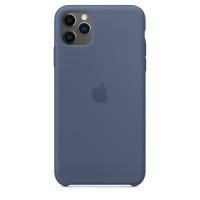 Чехол Накладка для iPhone 11 Pro Max Apple Silicon Case (Alaska Blue) (Полиулетан)