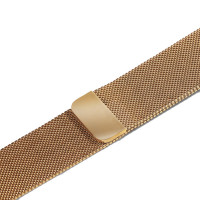 Ремешок-браслет для Apple Watch 38mm Milanese Loop Band (Light Gold)