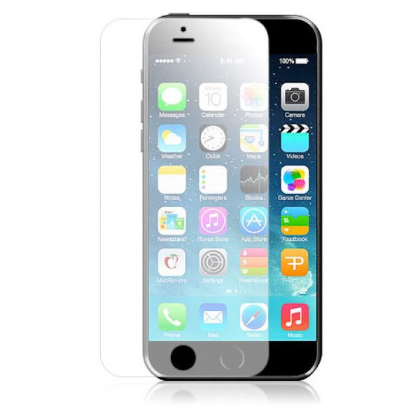 Защитное Стекло для iPhone 6 REMAX Silicone full cover tempered glass (Стекло) (Черный)