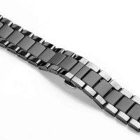 Ремешок-браслет для Apple Watch 38mm/40mm Ceramic Matte Loop (black/gloss)