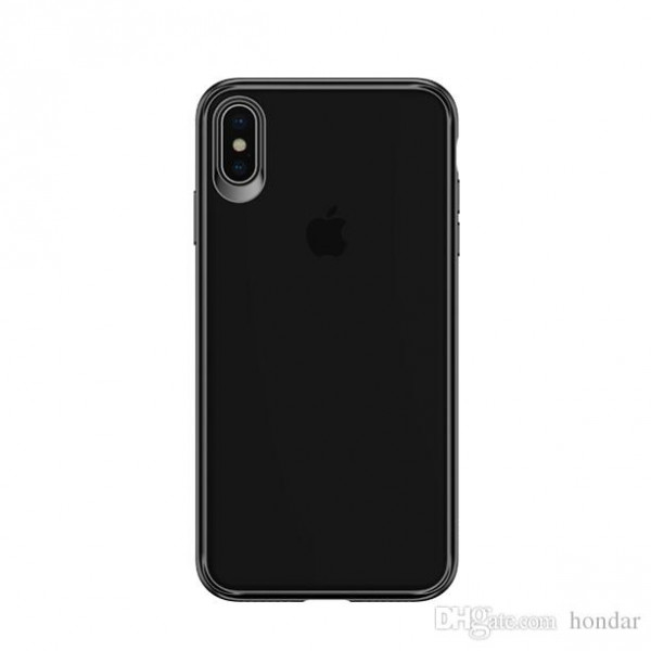 Чехол накладка iPhone Xs Max Usams Mant (black)